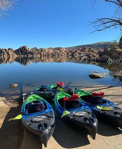 Calm Mornings at Watson Lake