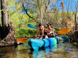 Kayaking Watson Lake