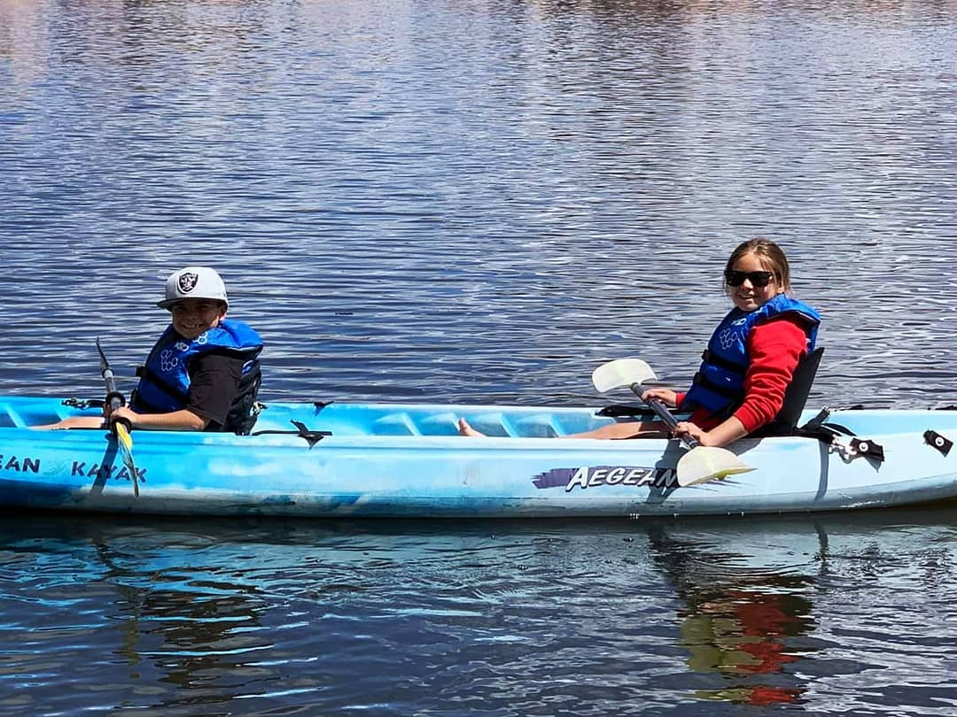 Tandem kayaks available!