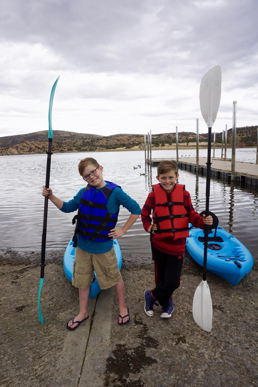 Watson Lake Boat Dock