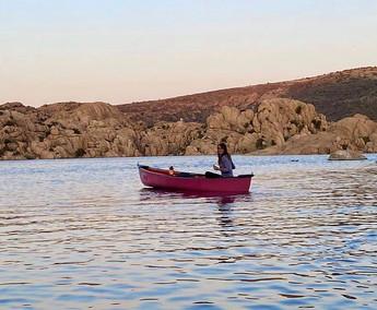 Canoe Moonlight Paddle