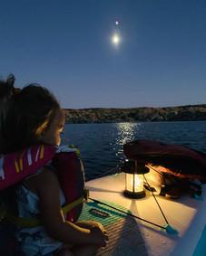 Moonlight Paddle Board