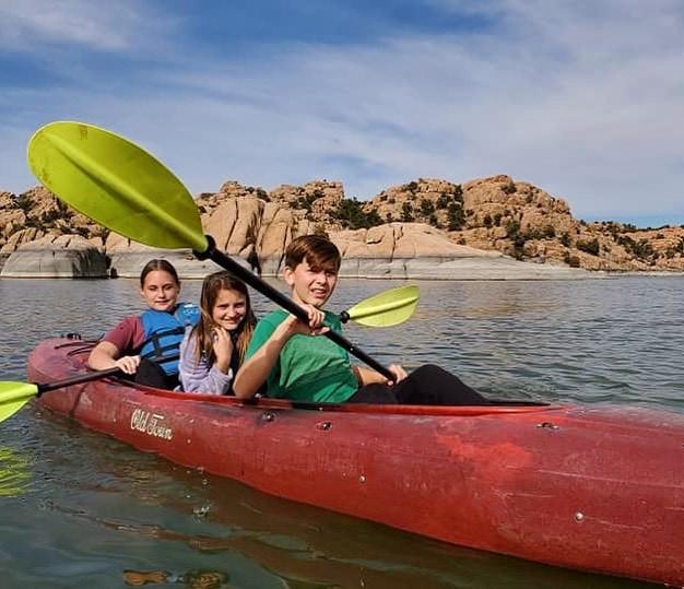 Tandem Kayaks!