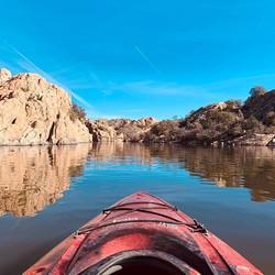 January Kayaking