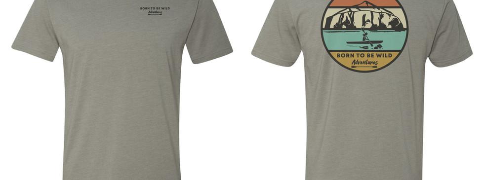 B2BWILD T-Shirt, Grey