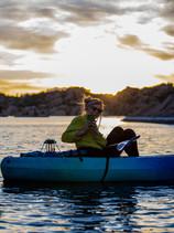Moonlight Kayaking Watson Lake