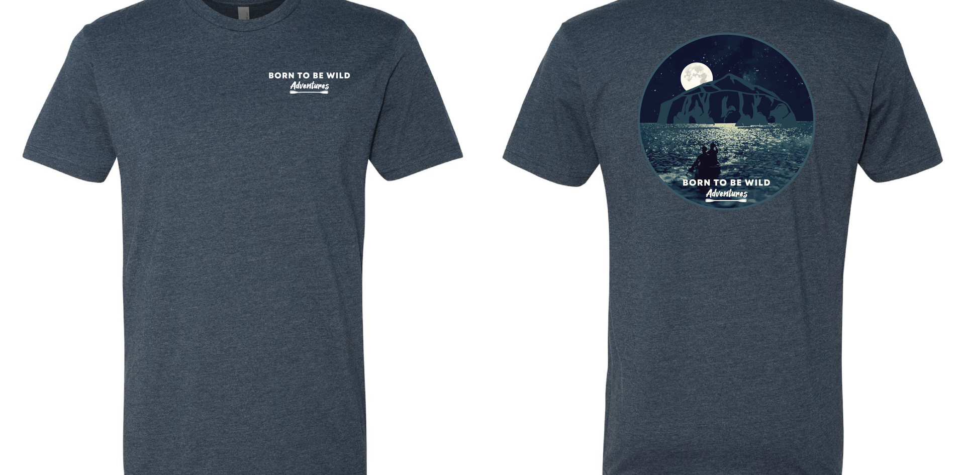 Moonlight Kayaking T-Shirt