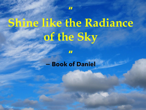 Like the Radiance of the Sky
