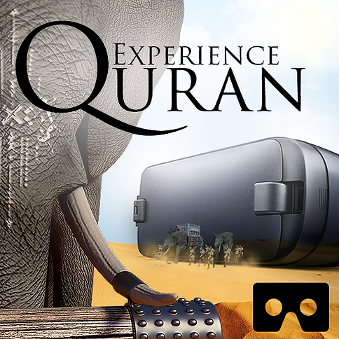 Experience Quran in Virtual reality created by Ehab Fares