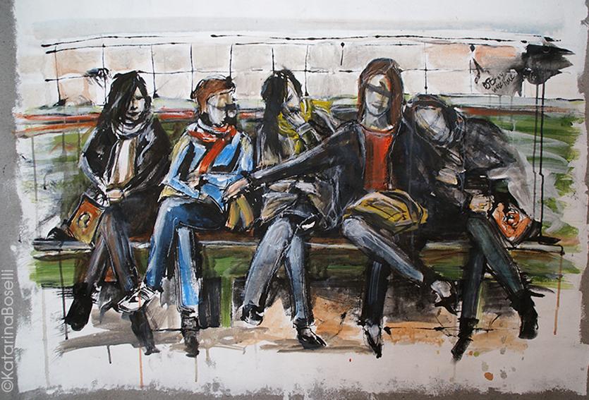Peinture et encre