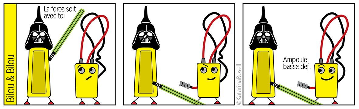 EggTelsa - Dessin Illustrator - outil d'électricien en mode BD