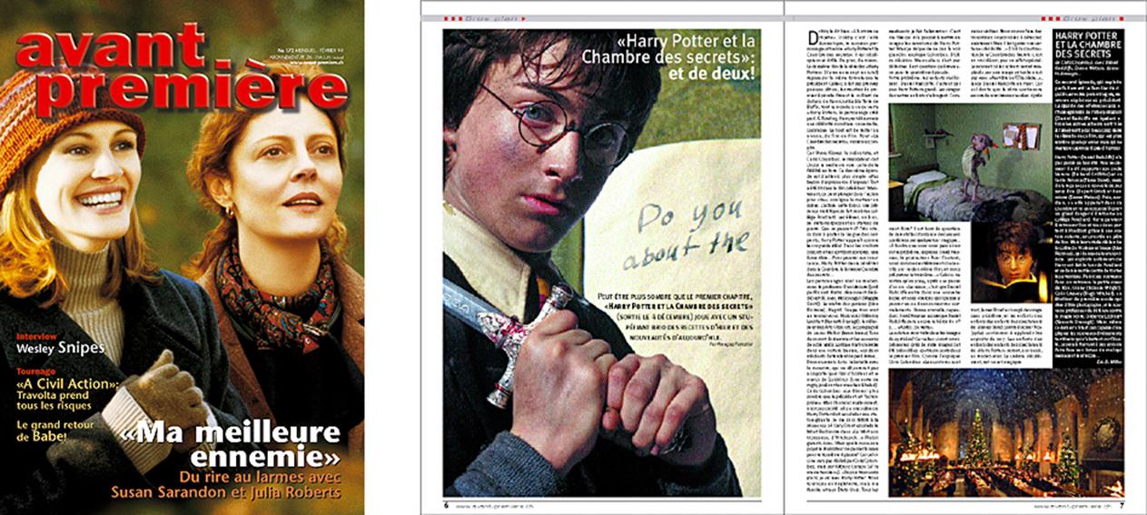 Avant Première | Magazine du cinéma