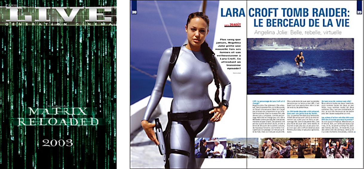 Live Magazine du cinéma