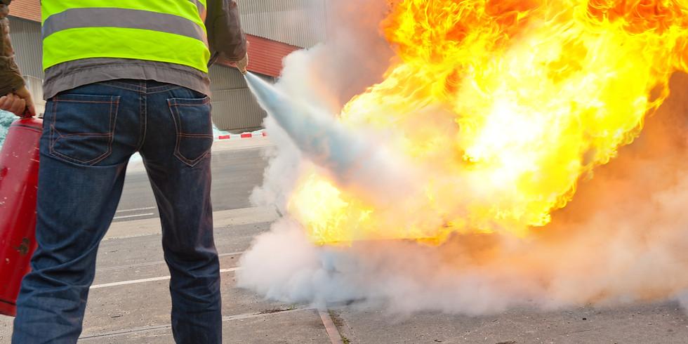 Auffrischung - Brandschutz- und Evakuierungshelfer