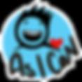 logo_asican_blue_nontransparent_mouth_wh