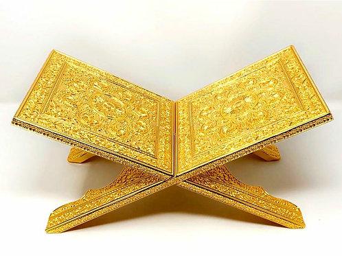 Golden Quran Stand Holder