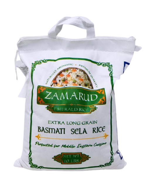 Zamarud Emerald Rice