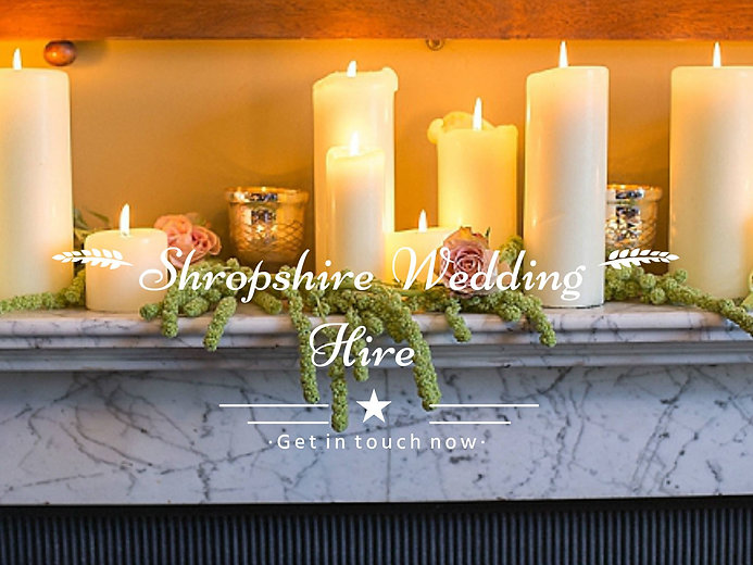 Contact Shropshire wedding hire