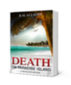 Death on Paradise Island book cover