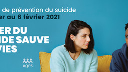 Semaine de prévention du suicide