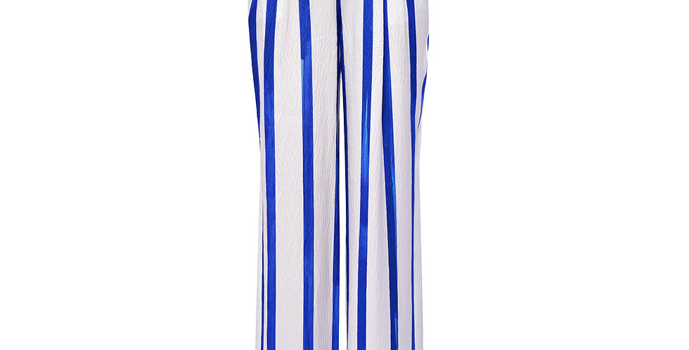 PAINTER STRIPE TROUSERS