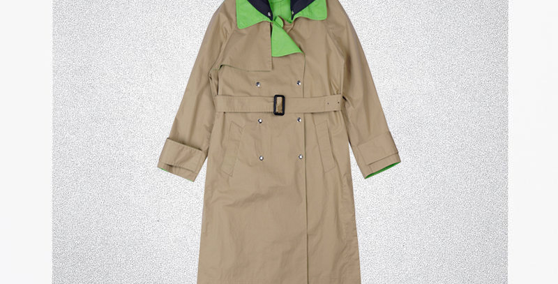 MOODED SPORTS TRENCH
