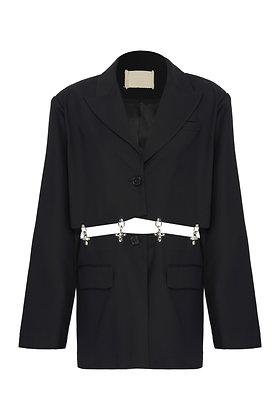 HOOK ON SUIT CORSET DRESS JACKET
