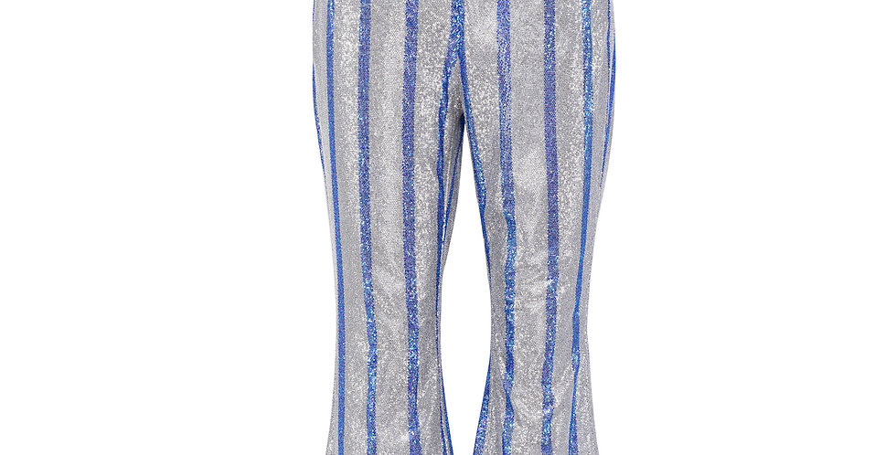 STRIPED BEADED PANT