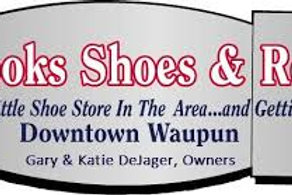 Brook's Shoes and Repair gift card