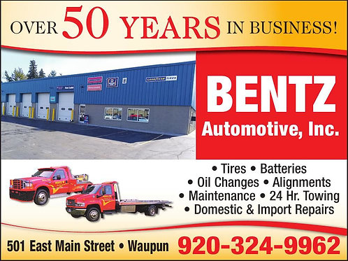 Bentz Automotive gift card