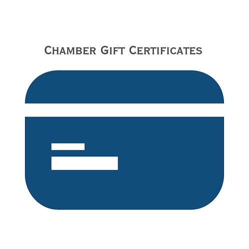 Chamber Gift Certificate