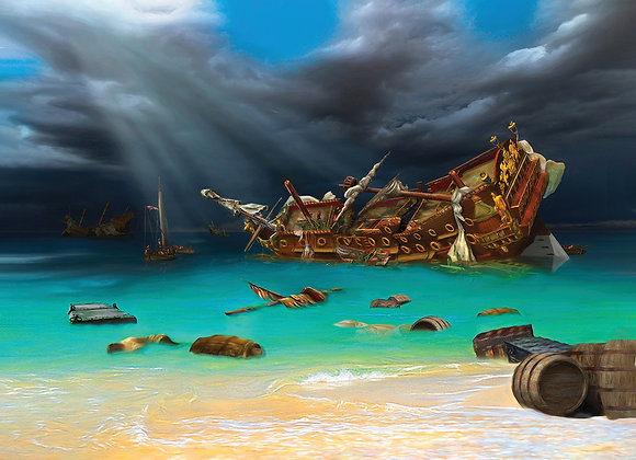 1715 Fleet San Roman Wrecked