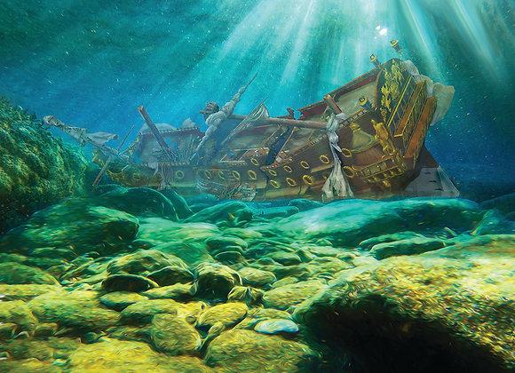 1715 San Roman Sunk