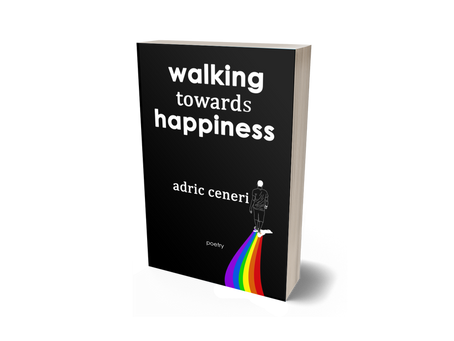 walking towards happiness