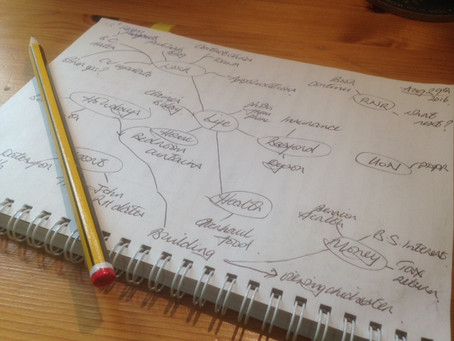 Planning tips 7. Make mind maps
