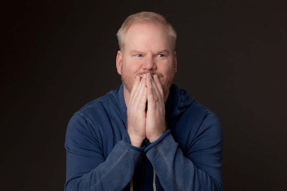 *Image attribution: US comedian Jim Gaffigan making a goofy excited face. This is a representation of his inner voice coming through which is an integral part of his comedy routine.  Alan Gastelum. 9th January 2014
