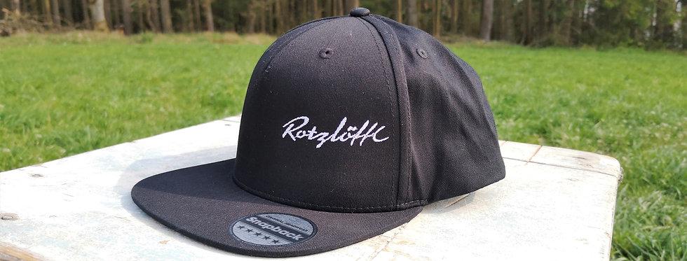 """Cap """"Rotzlöffl"""", Stick weiß"""