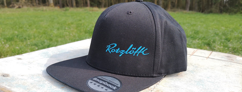 "Cap ""Rotzlöffl"", Stick blau"