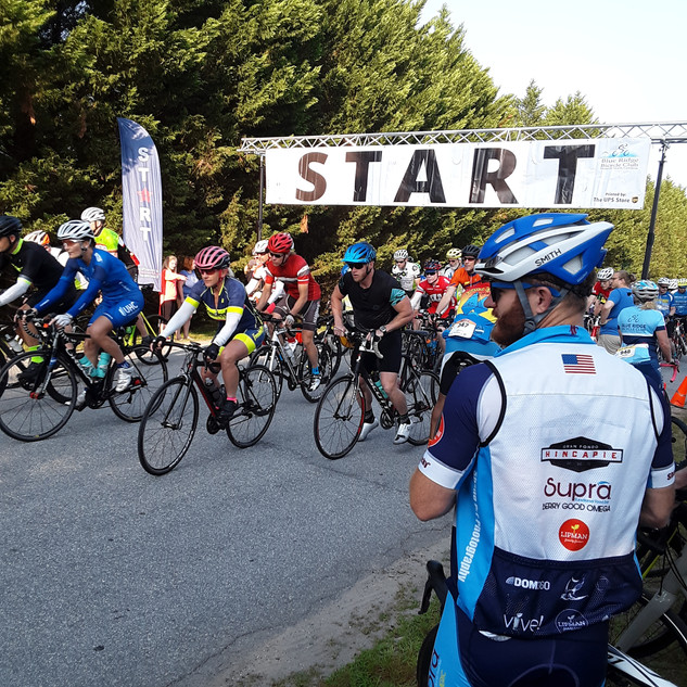 """Western North Carolina Flyer, Brevard- Approx. 1,000 riders in """"The cycling capital of the South,' Brevard, NC. Riders from GA/TN/SC/KY attend."""