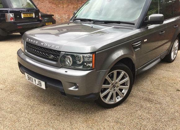 Stunning grey metallic, SAT NAV, Range Rover Sport only 56k just serviced