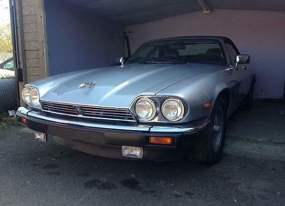 1988 Jaguar XJS 5.3 V12 2dr Auto Sports Petrol Automatic, Silver, 52,000 Miles