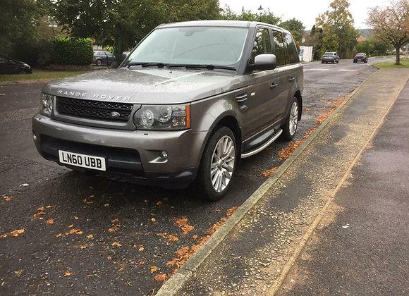 Range Rover Sport, Grey,  65,000 Miles