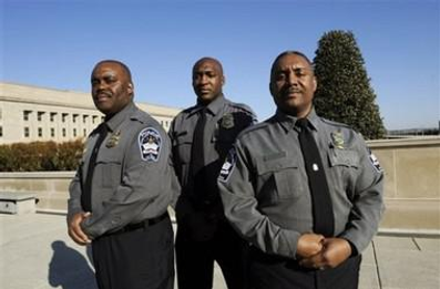 Federal Contract Guards, Contract Guards, Protective Service Officers, Justice Protective Service Officers