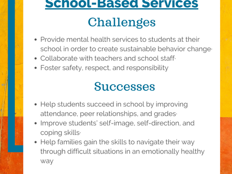 School-Based Services (SBS) Helps Children Succeed in School