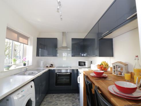 Kitchen inside Chestnut Cottage
