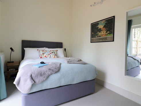 Bedroom 1 inside Oak Cottage