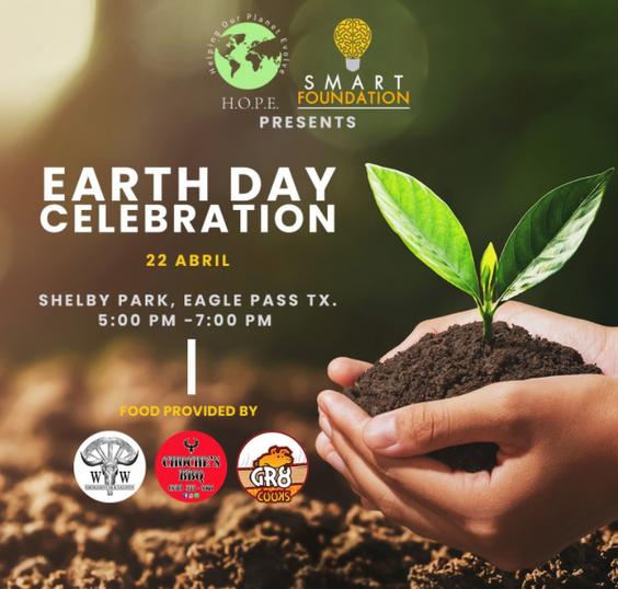 La celebración del dia de la tierra.