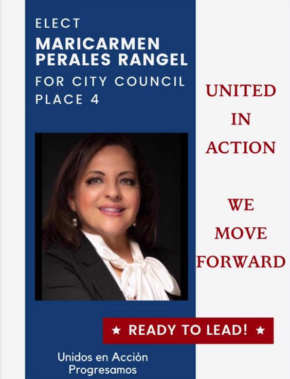 Vota por Maricarmen Perales Rangel!