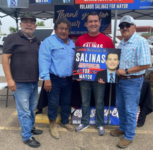 Rolando Salinas, tu mejor opción para mayor de la ciudad de Eagle Pass.