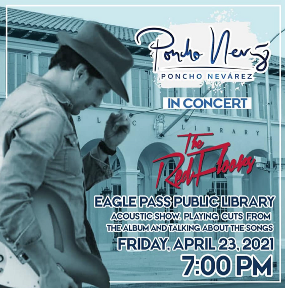 Poncho Nevarez, The Red Floors in concert!.
